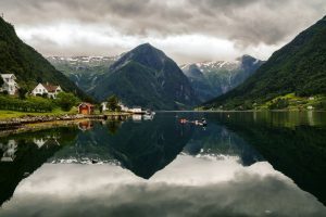 Balestrand Fjord