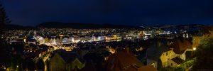 Bergen Night Pano