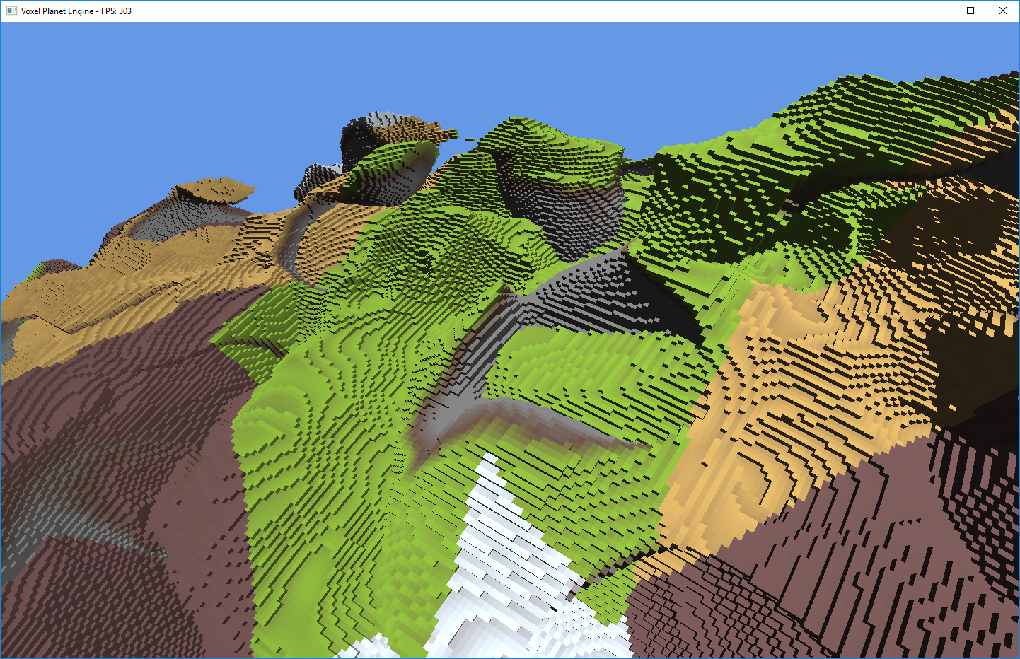 Voxel Planet Engine
